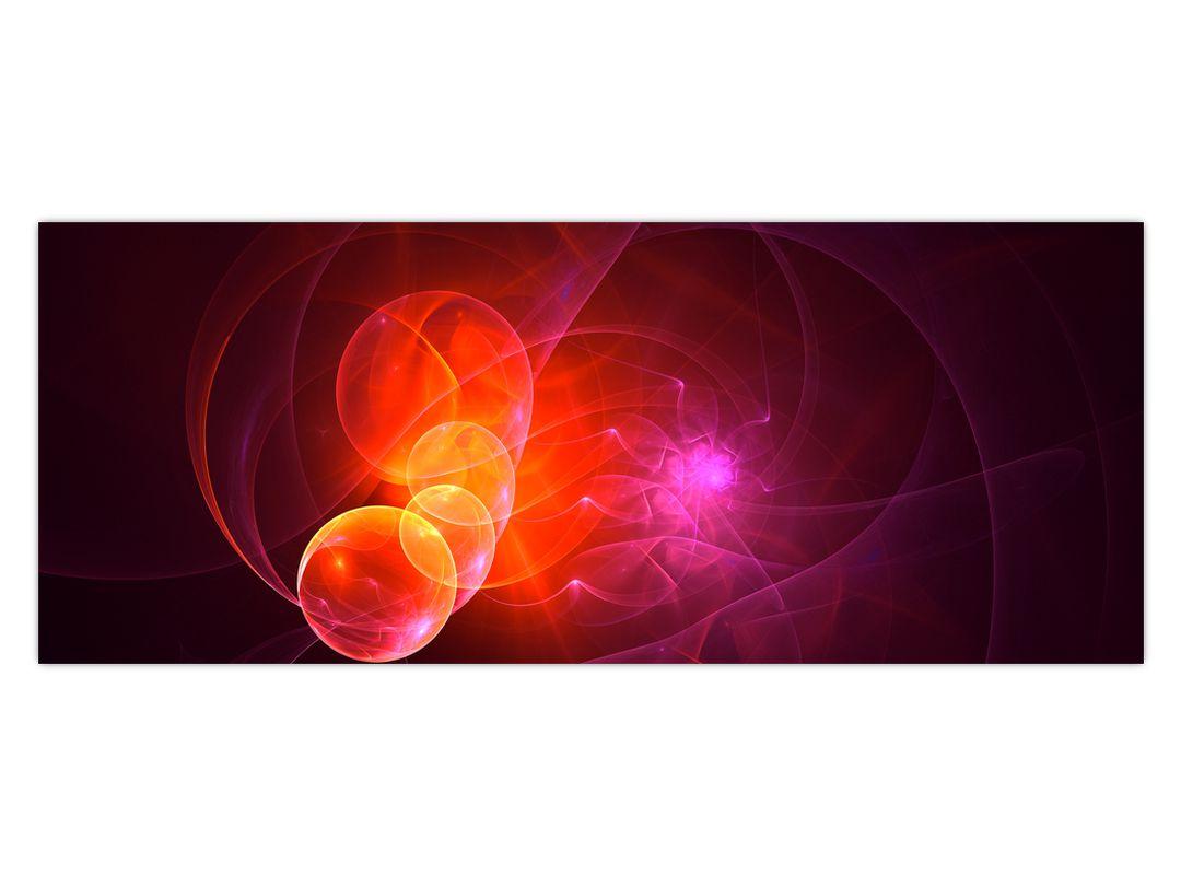 Moderní obraz růžové abstrakce (V020129V10040)