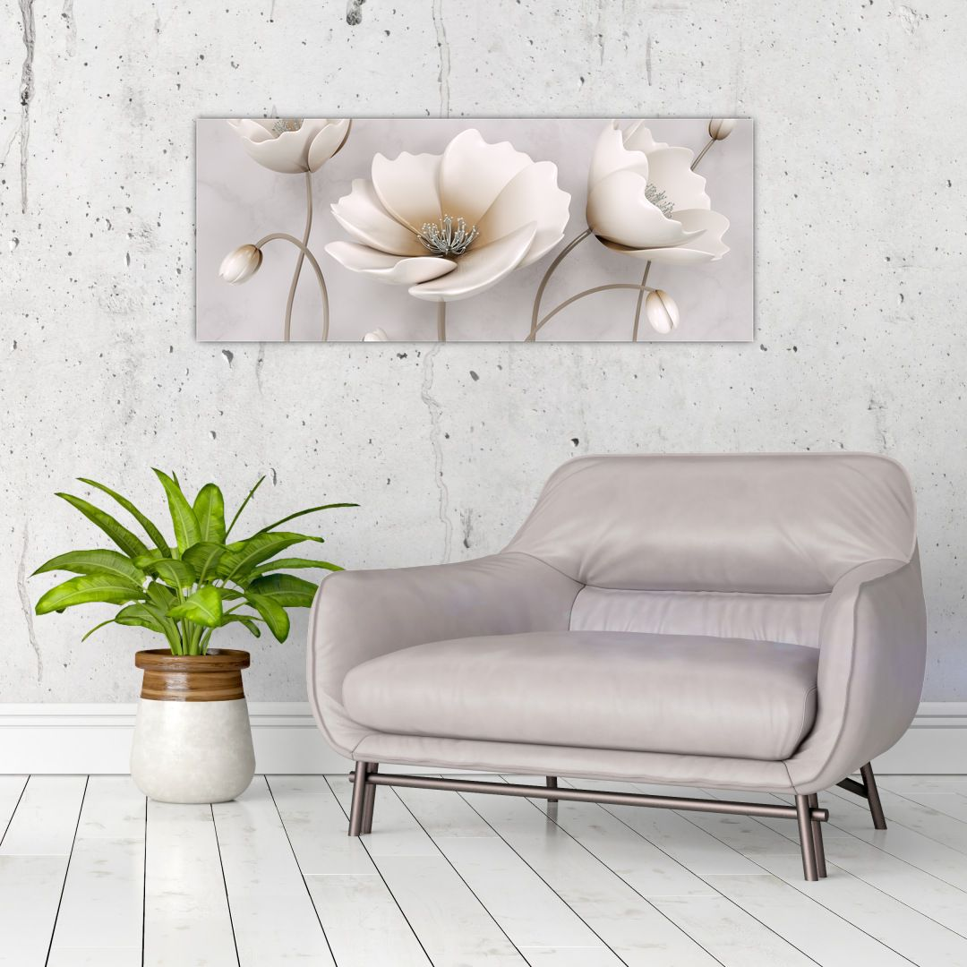 Slika bijelog cvijeća (V020898V10040)
