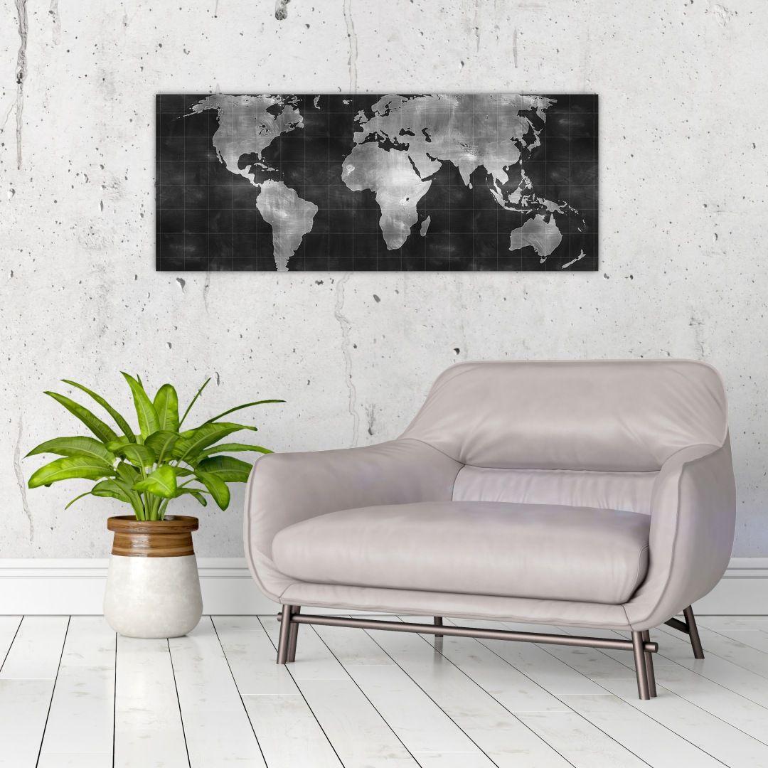 Obraz - Mapa světa (V021461V10040)