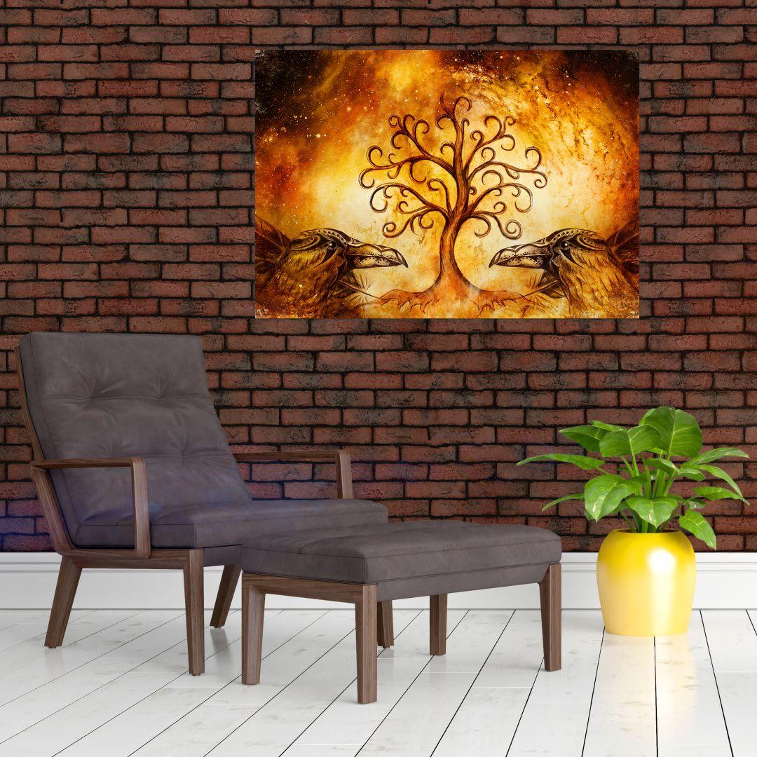 Naravna abstraktna slika drevesa (V022111V10070)