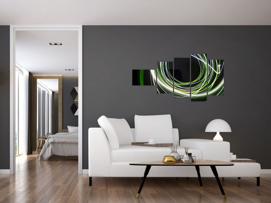 Kép zöld vonalak (V020054V11060)