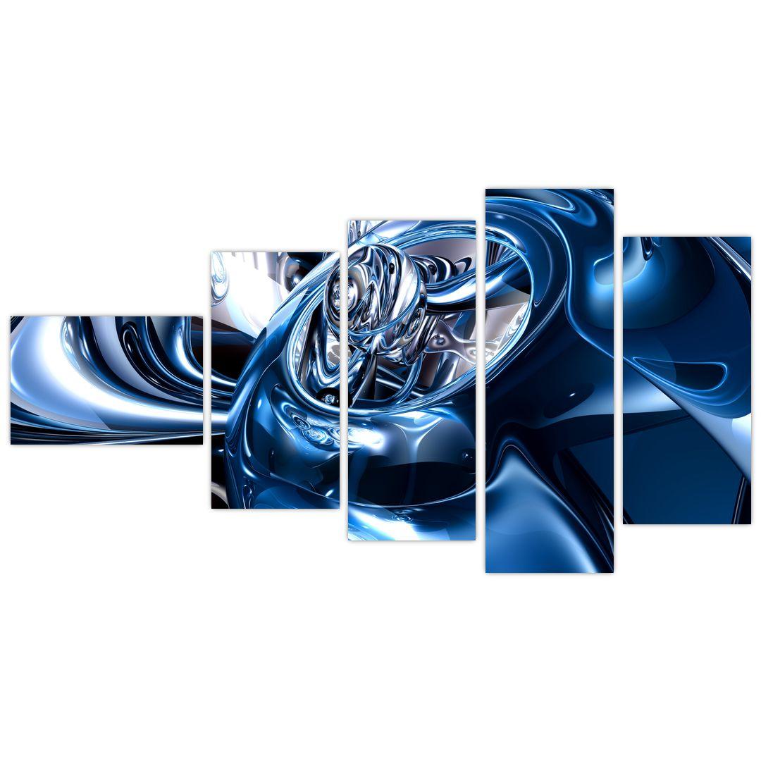 Obraz abstrakcie - kruhy (V021298V11060)