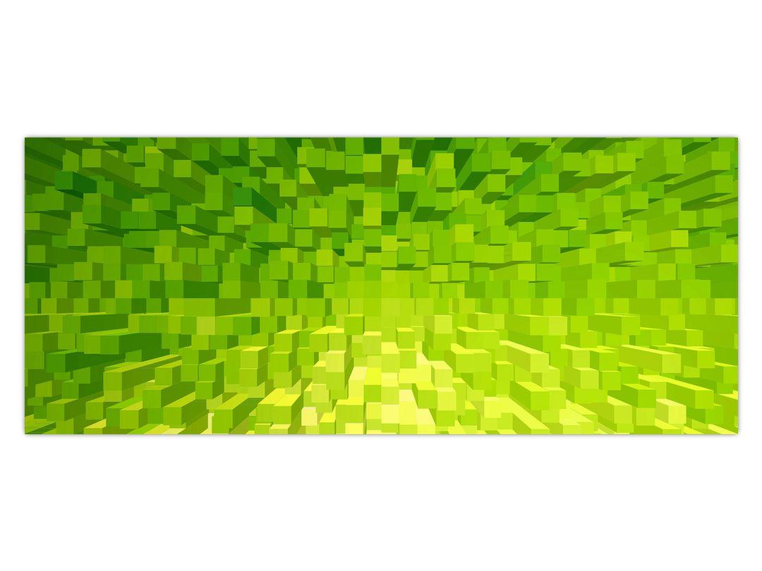 Obraz žlutozelených kostiček (V020057V12050)
