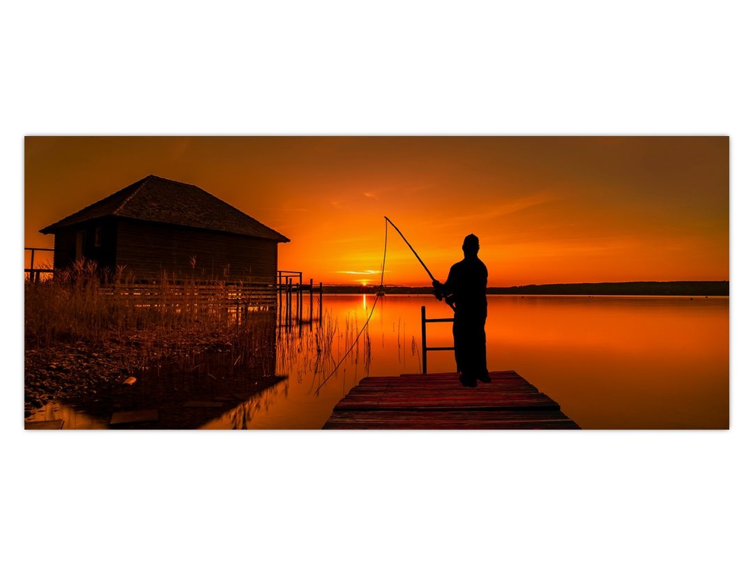 Tablou cu pescar (V020264V12050)