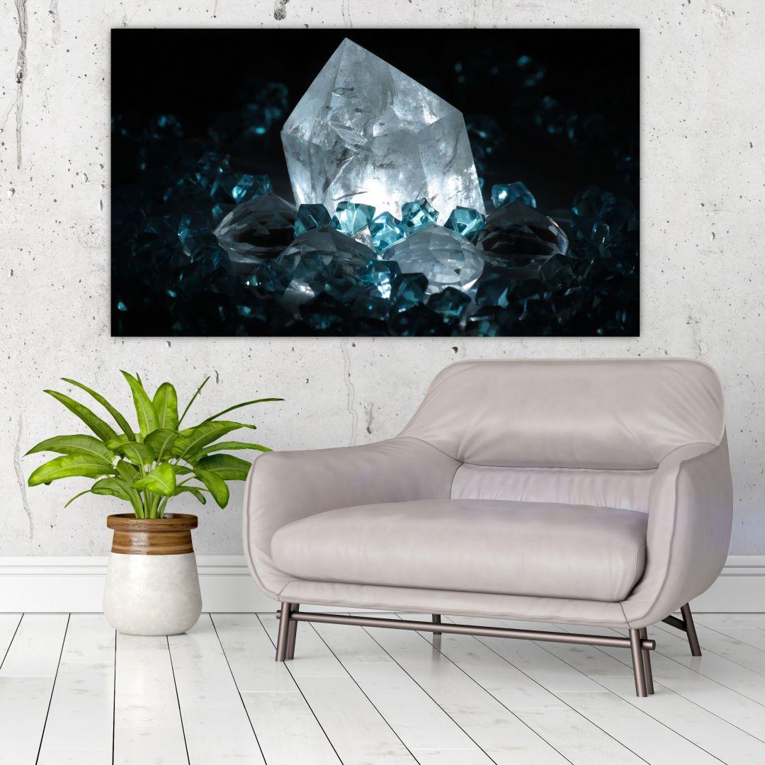 Schilderij - Kristal (V021107V12070)