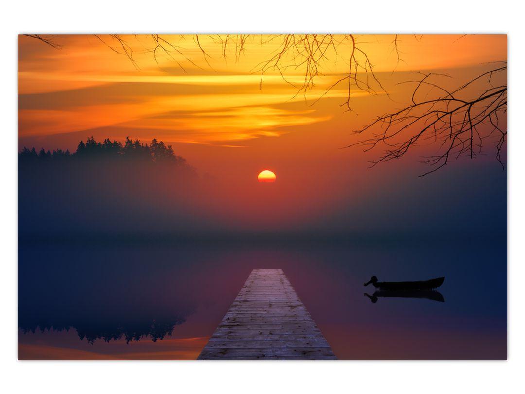 Híd képe naplementekor (V020012V12080)