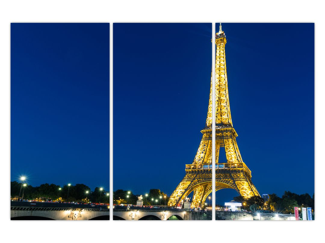 Tablou cu turnul Eiffel (V020155V120803PCS)
