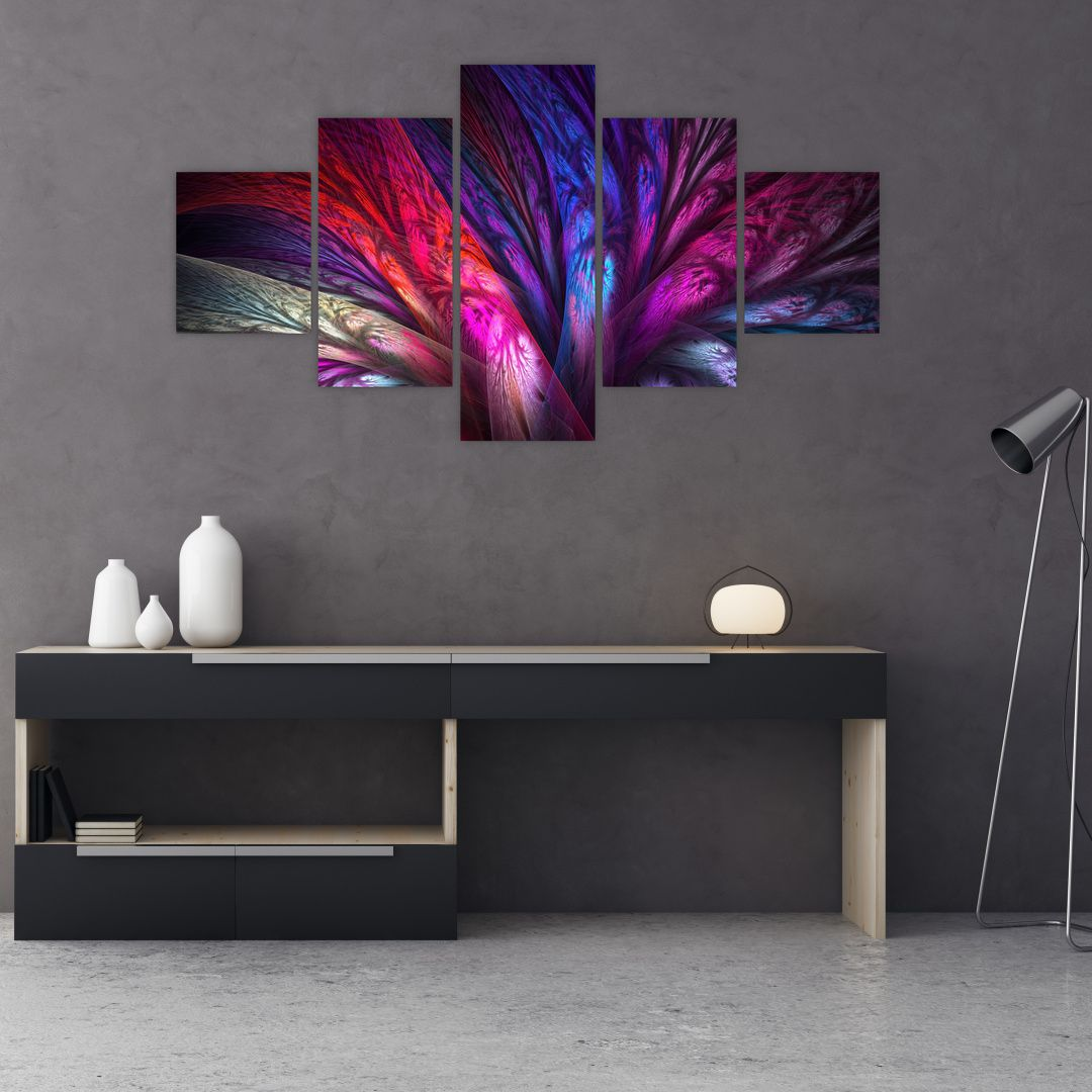 Tablou abstract cu copacul (V020125V12570)