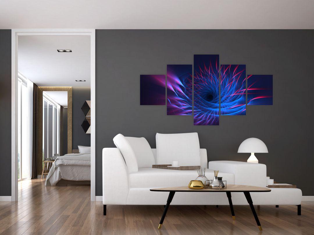 Obraz - abstrakce květu (V020148V12570)