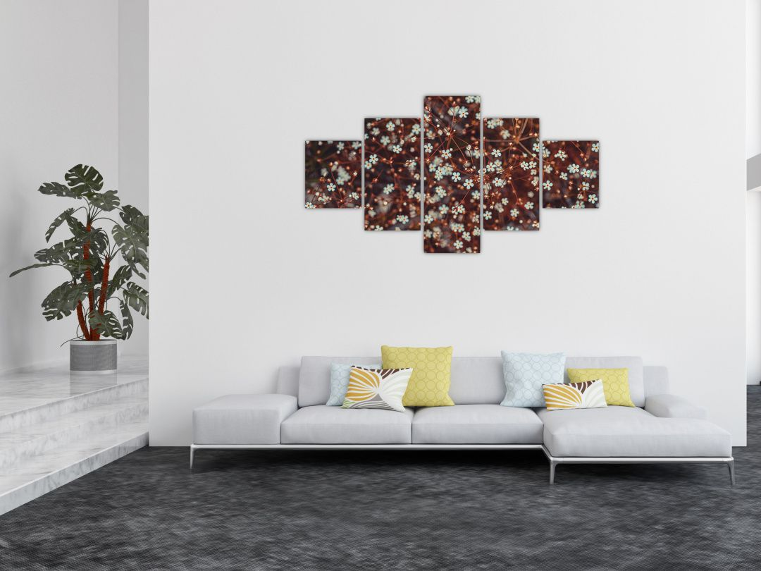 Obraz květiny Pomněnka lesní (V020811V12570)