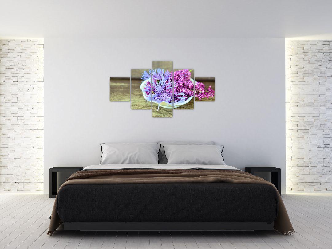 Obraz dekorace s levandulí (V020874V12570)