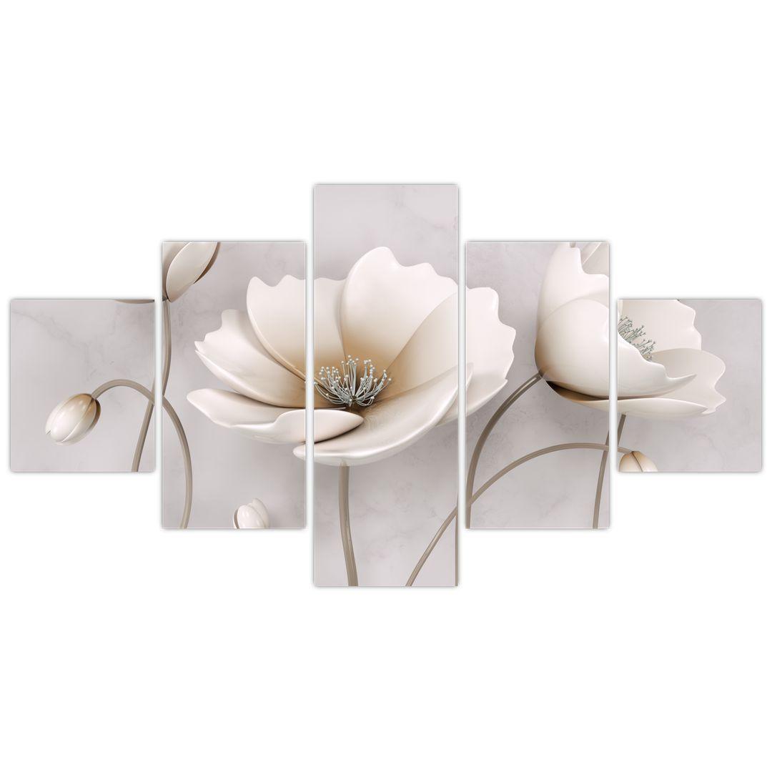 Obraz bílých květin (V020898V12570)
