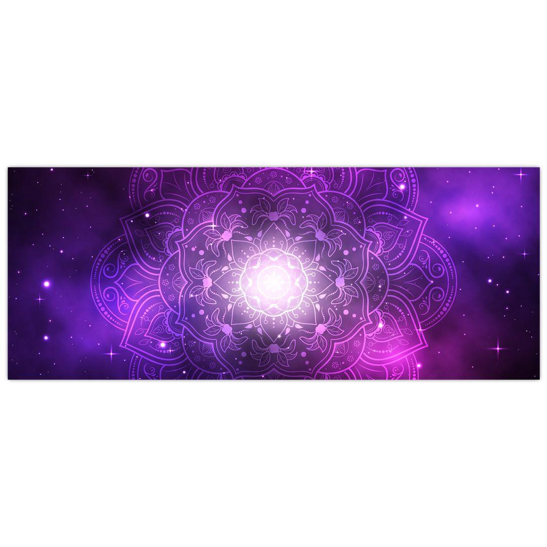 Slika ljubičaste apstrakcije (V022148V14558)
