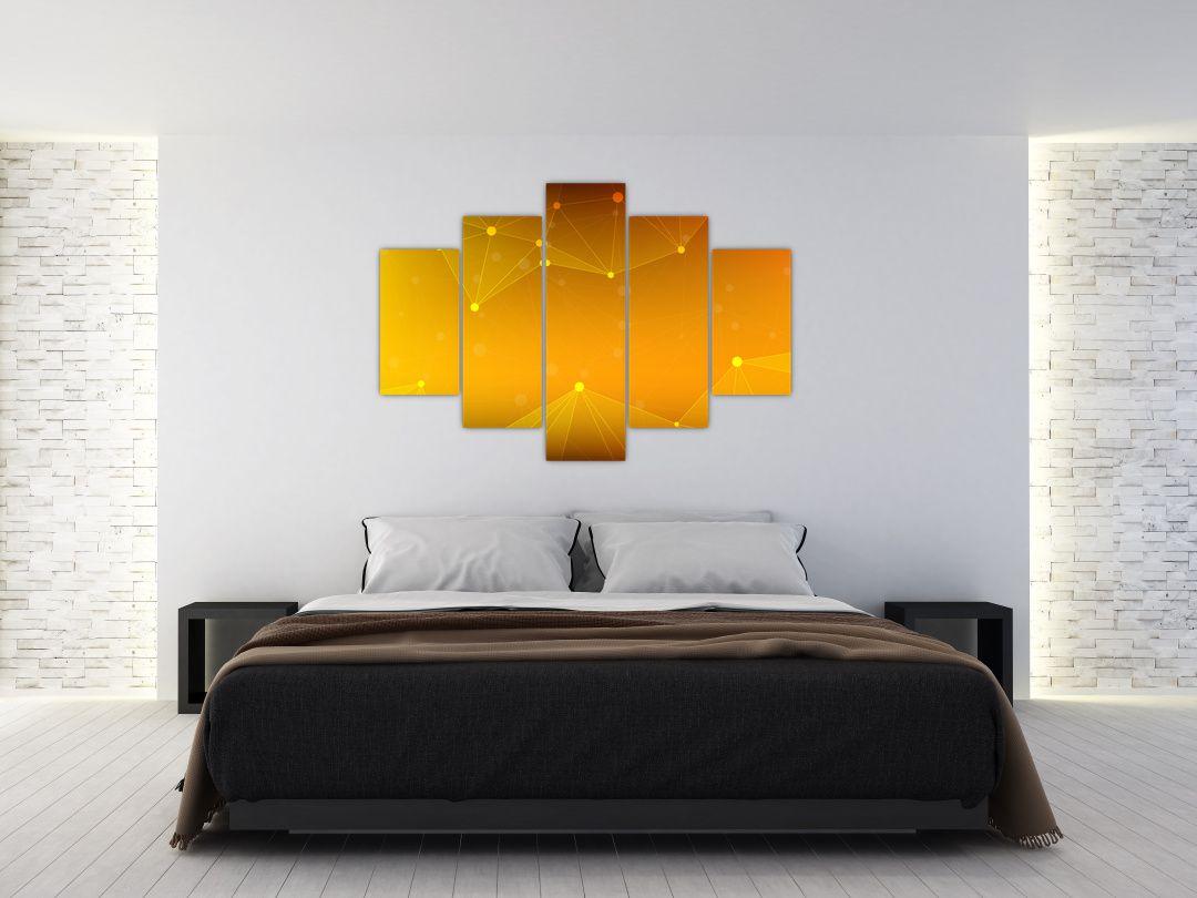 Abstraktní žlutý obraz (V020045V150105)