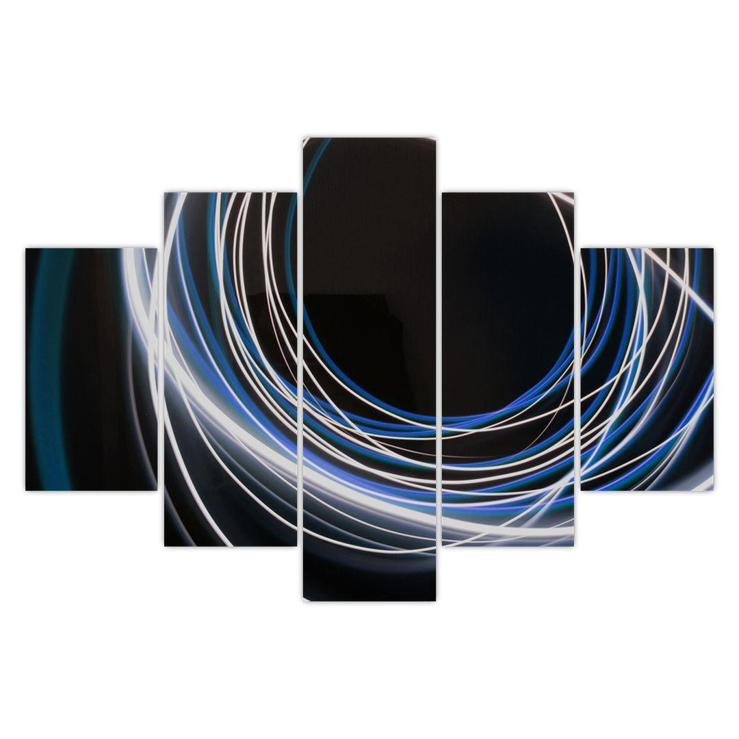 Tablou cu linii albastre (V020053V150105)
