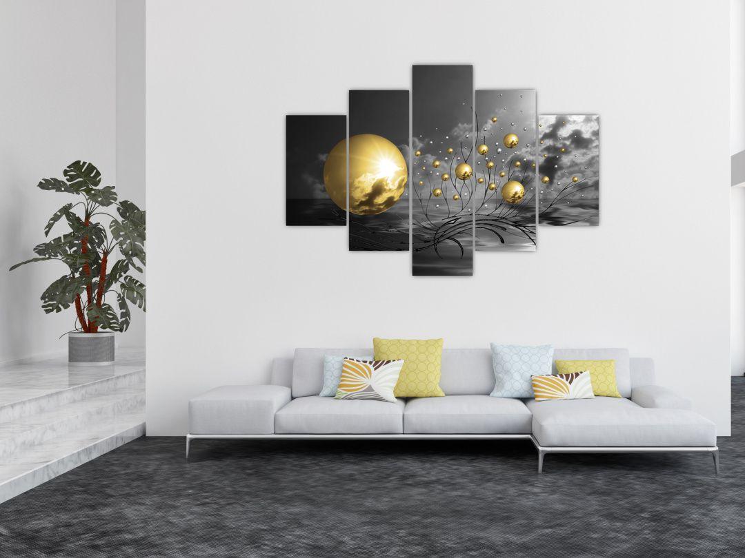 Okker gömbök képe (V020109V150105)