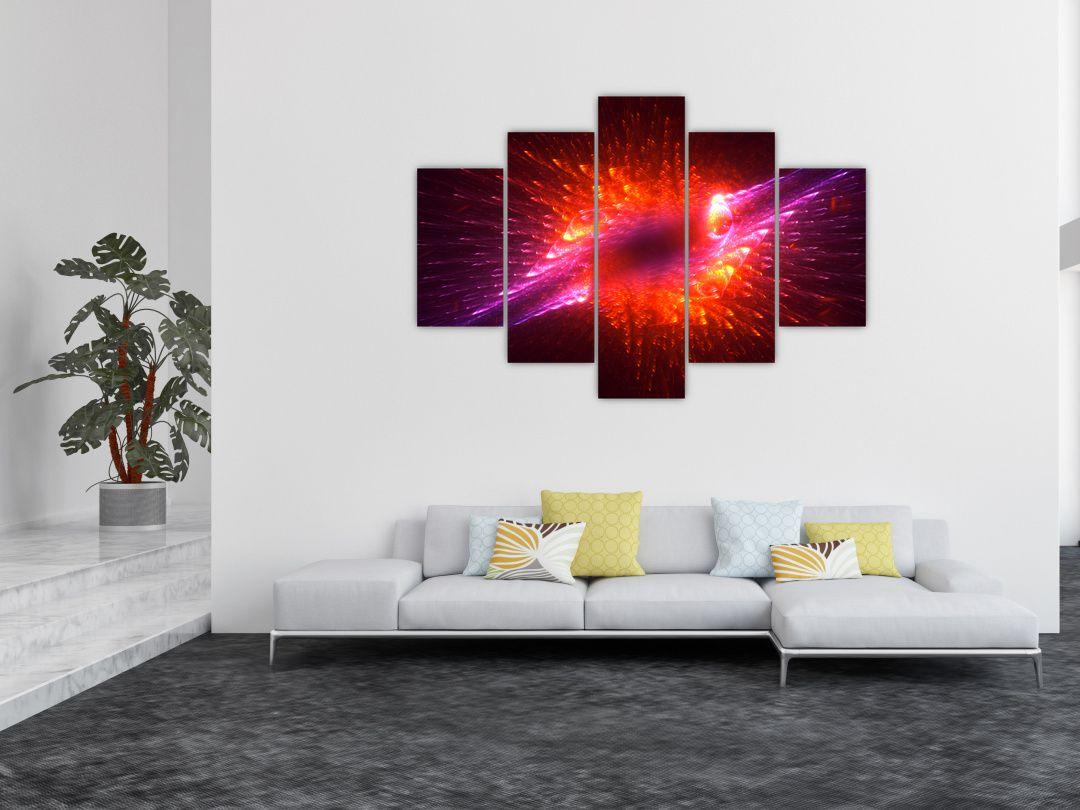 Obraz moderní trnité abstrakce (V020134V150105)