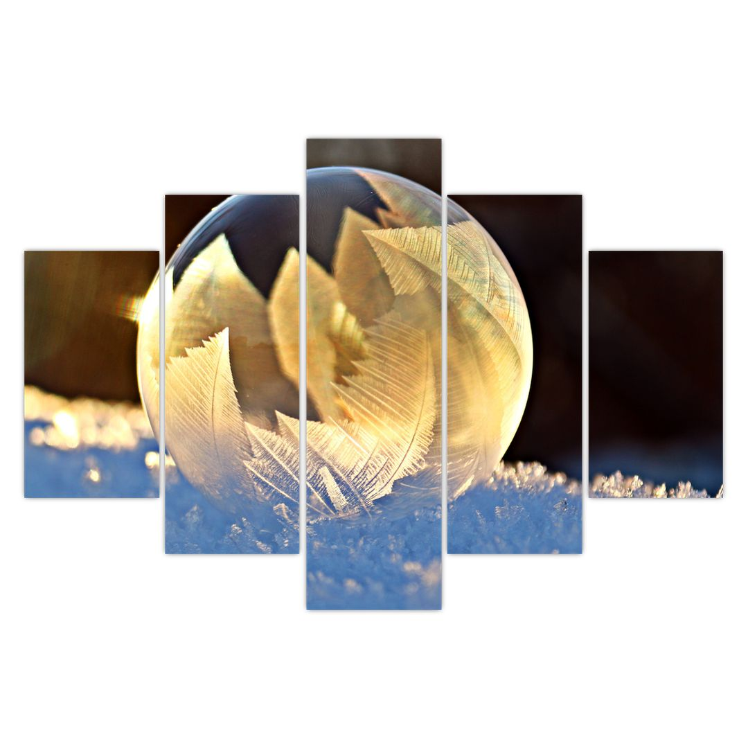 Kép - fagyott buborékok (V020519V150105)
