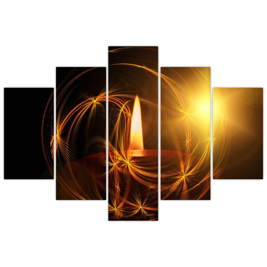 Tablou cu lumânare (V020812V150105)