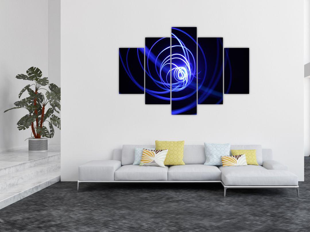 Kék spirálok képe (V020815V150105)
