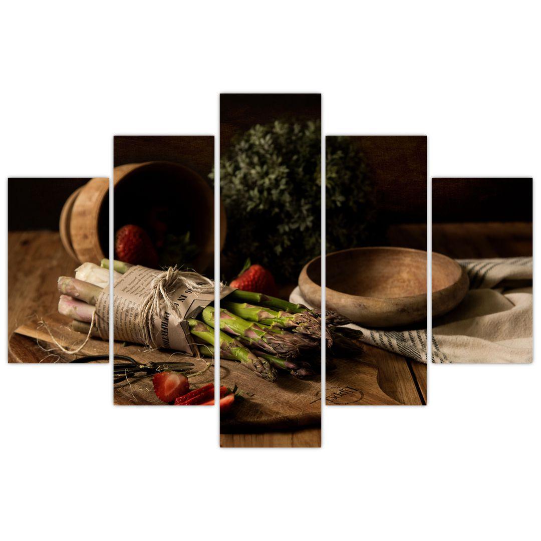 Obraz špargle na stole (V020883V150105)