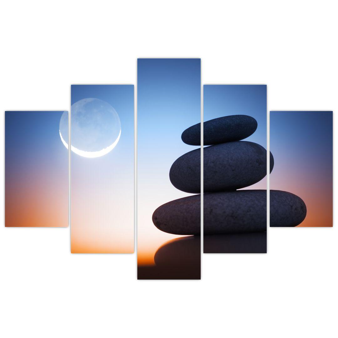 Obraz poskládaných kamenů na sobě (V020903V150105)