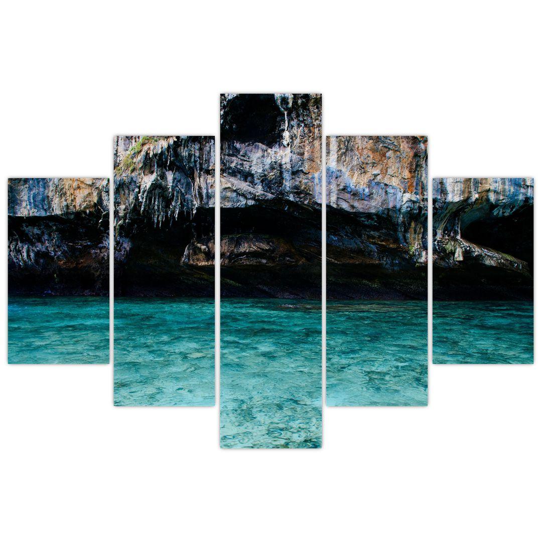 A víz és a sziklák képe (V021152V150105)