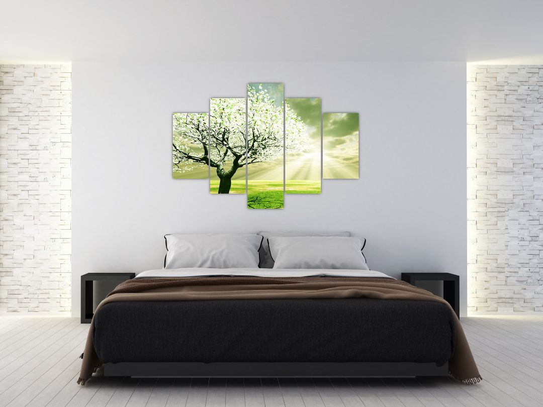 Obraz stromu na lúke (V021282V150105)