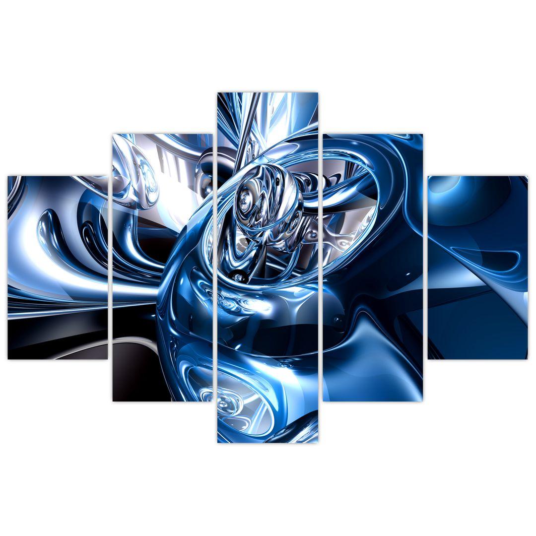 Obraz abstrakcie - kruhy (V021298V150105)