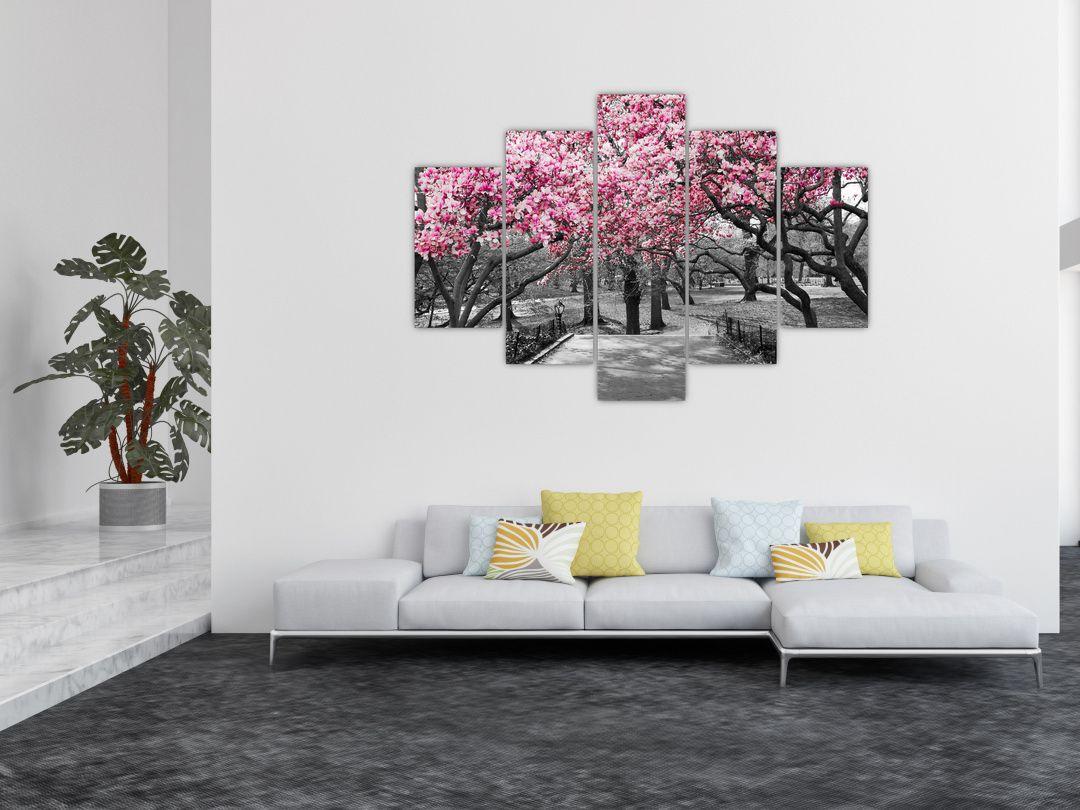 Obraz stromů Magnolíie (V021344V150105)