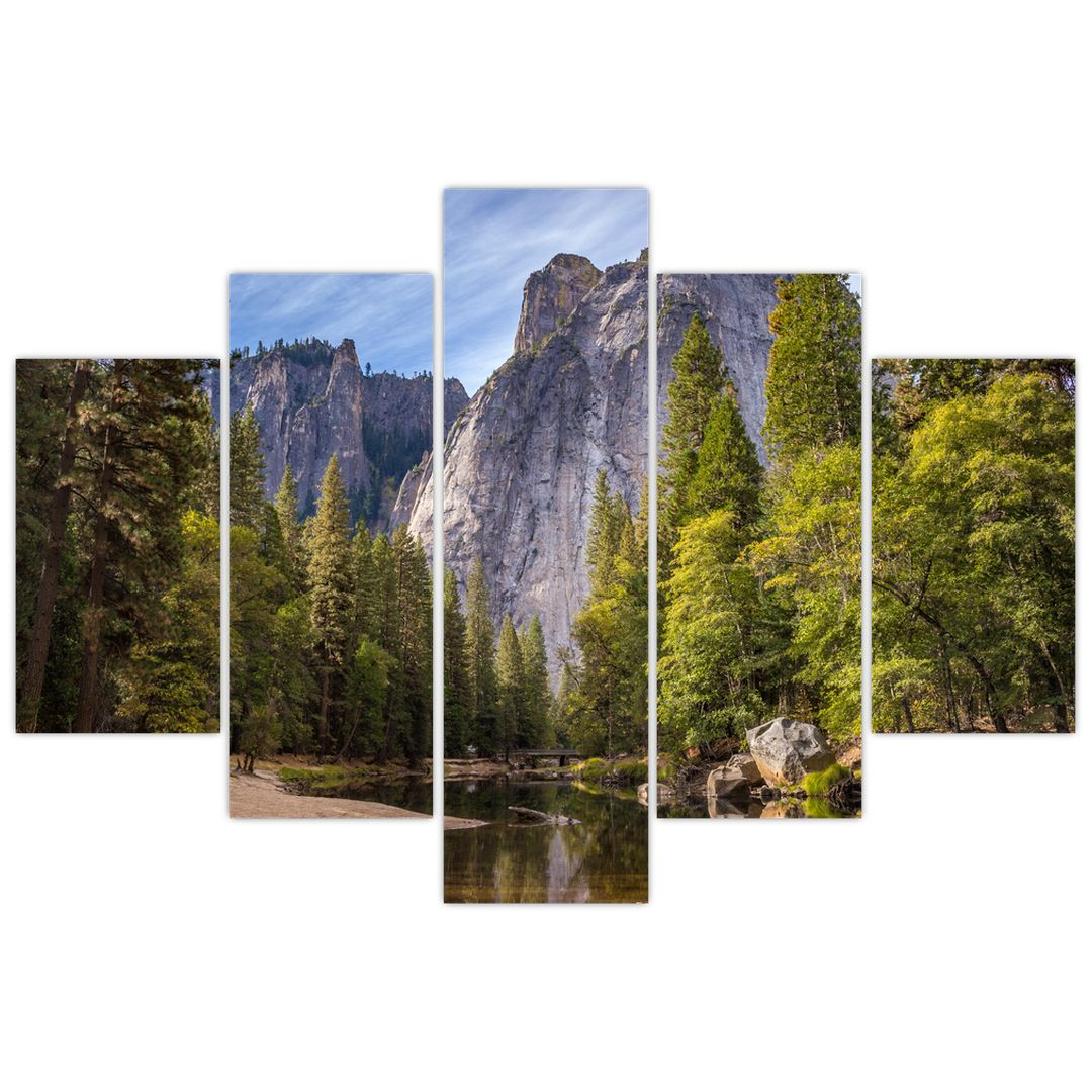 Kép - A Yosemite szikla alatt (V021691V150105)