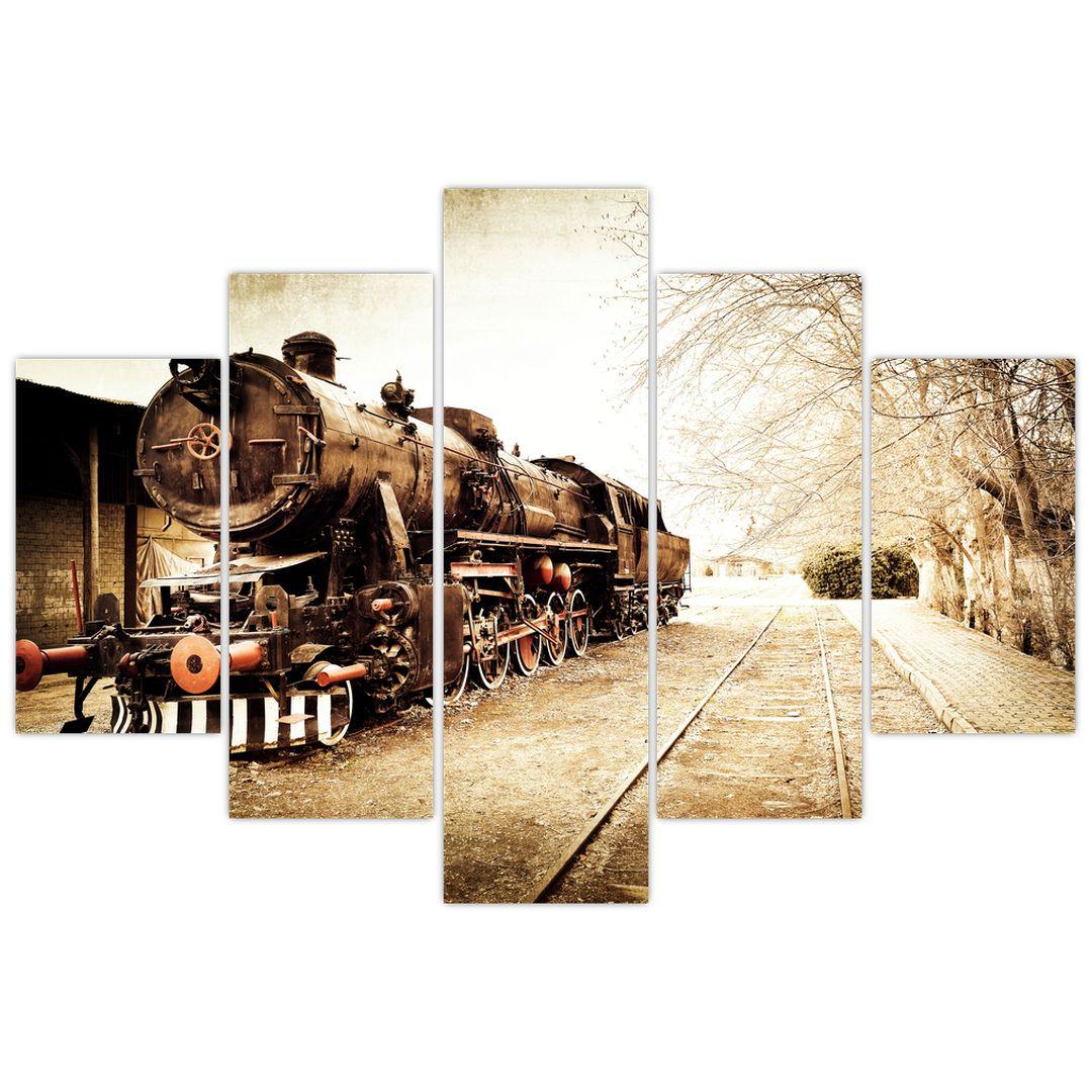 Slika - Povijesna lokomotiva (V021959V150105)