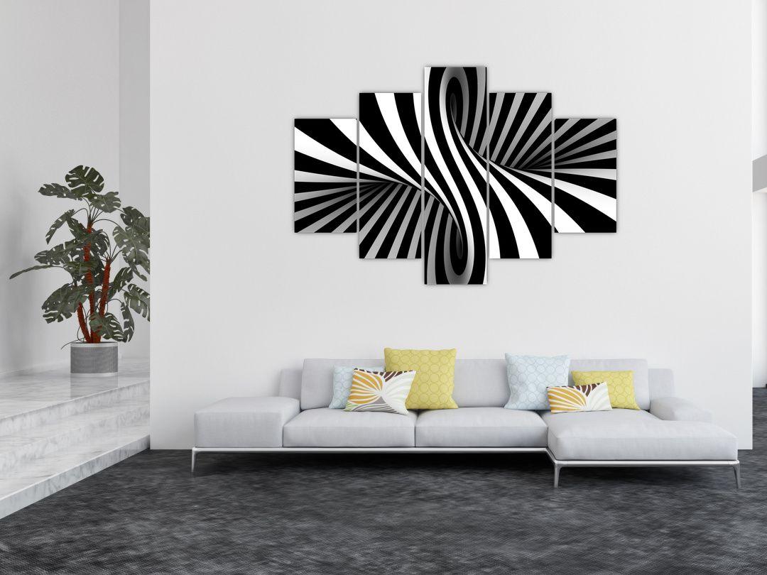Absztrakt kép zebra csíkokkal (V021960V150105)