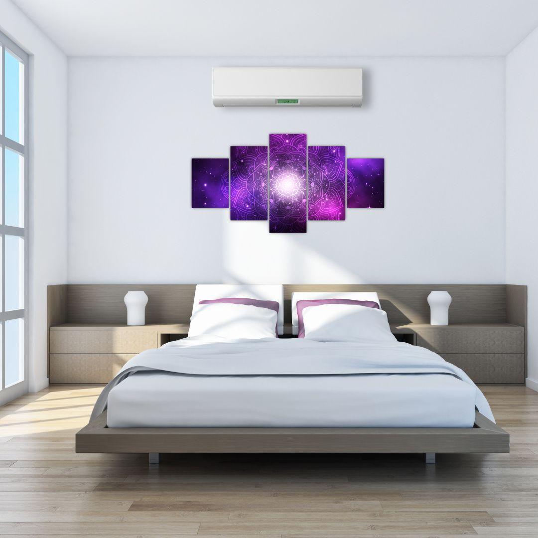 Obraz fialové abstrakce (V022148V150805PCS)