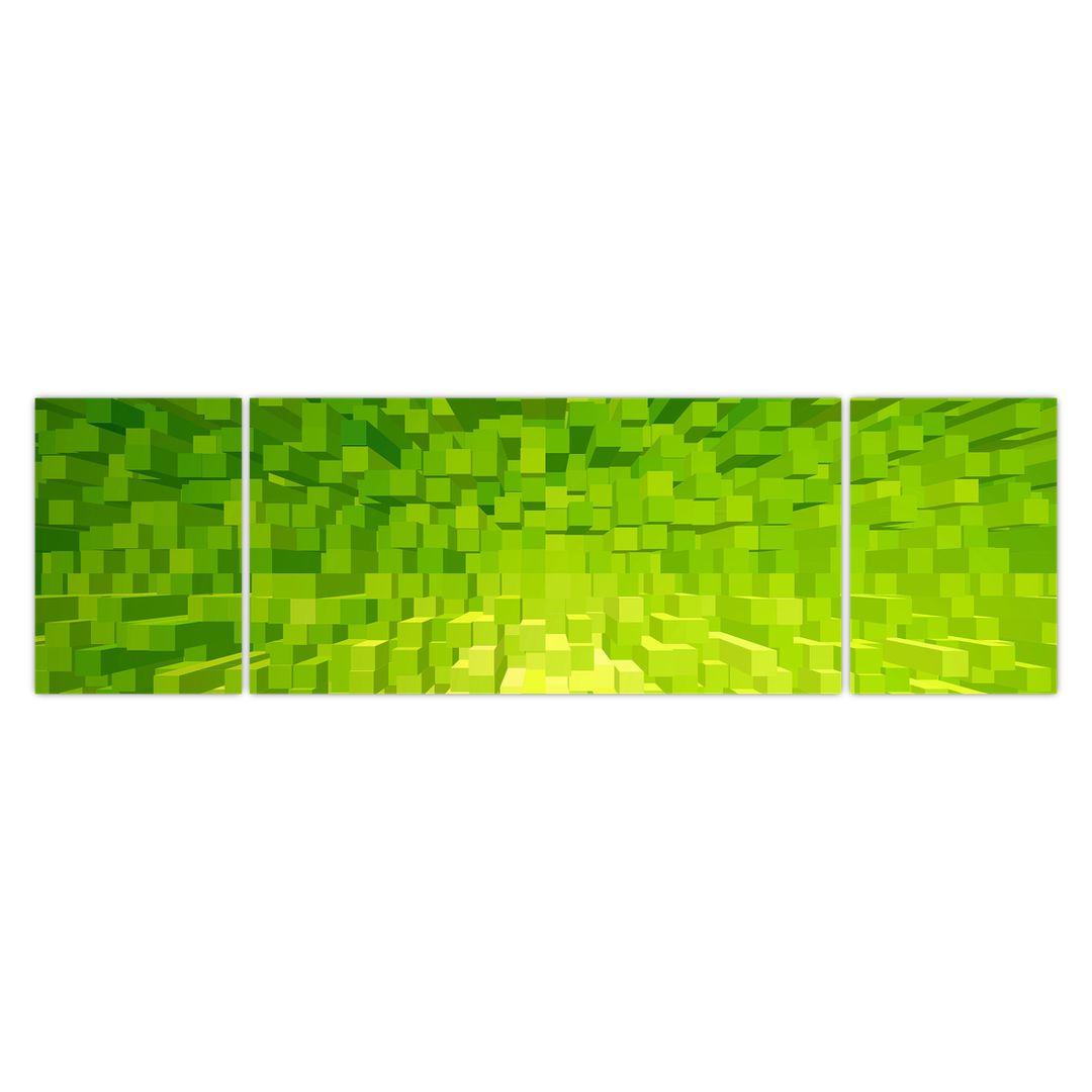 Obraz žlutozelených kostiček (V020057V17050)