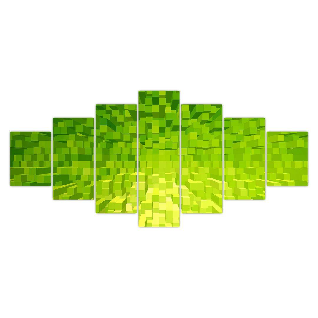 Obraz žlutozelených kostiček (V020057V210100)