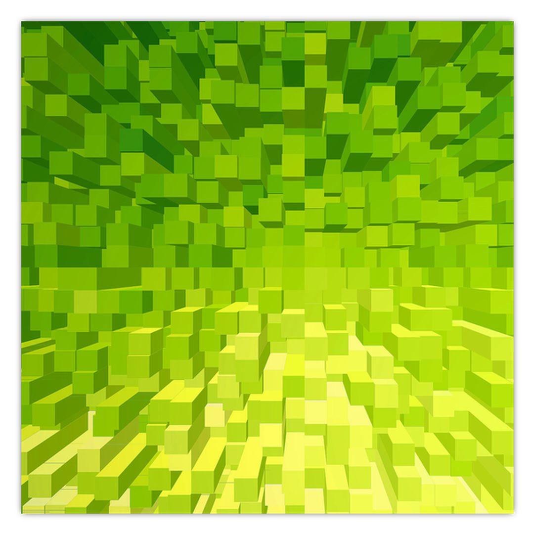 Obraz žlutozelených kostiček (V020057V3030)