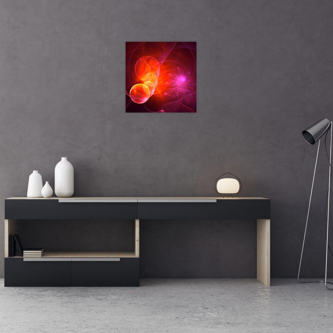 Moderní obraz růžové abstrakce (V020129V4040)