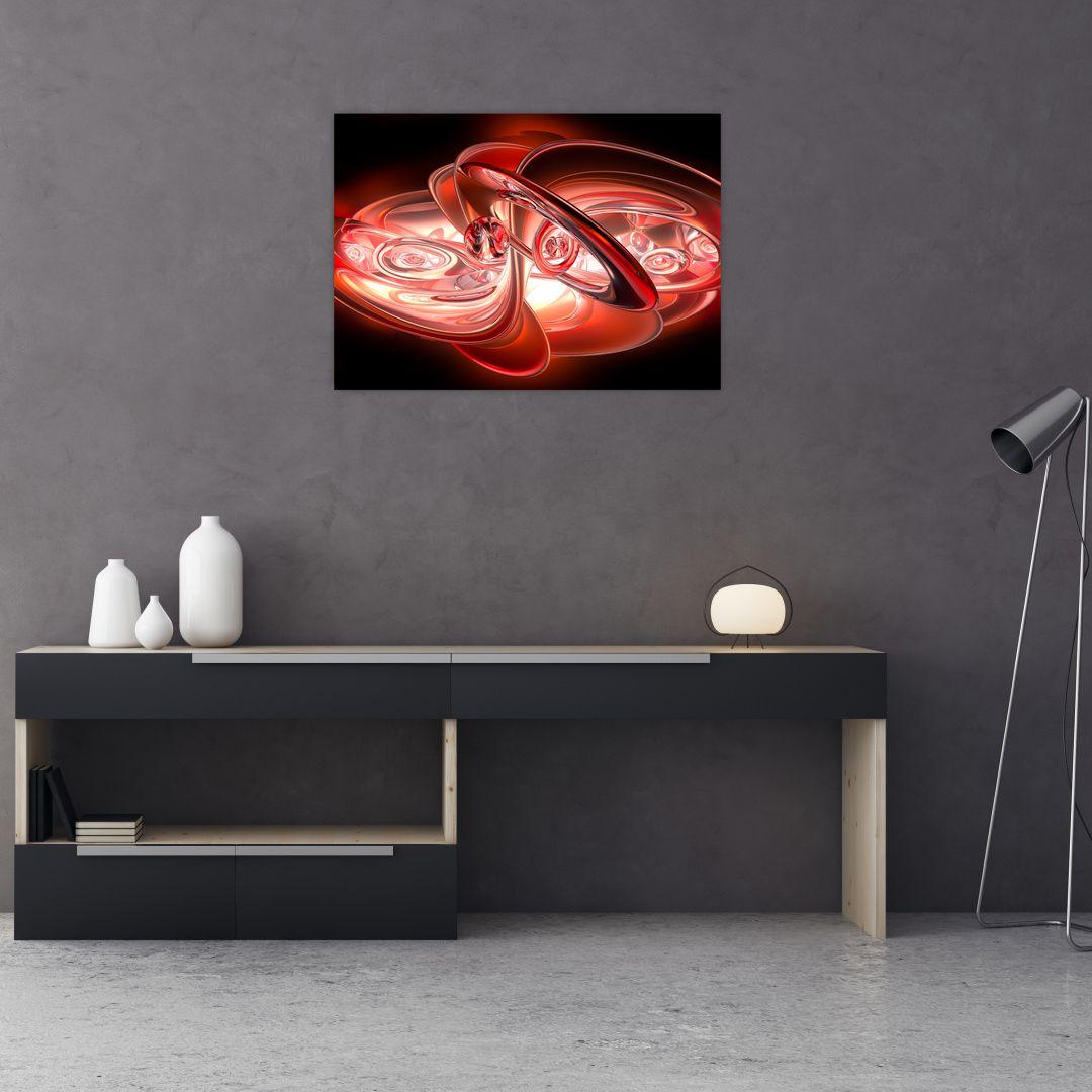 Obraz - červené tvary (V020064V7050)