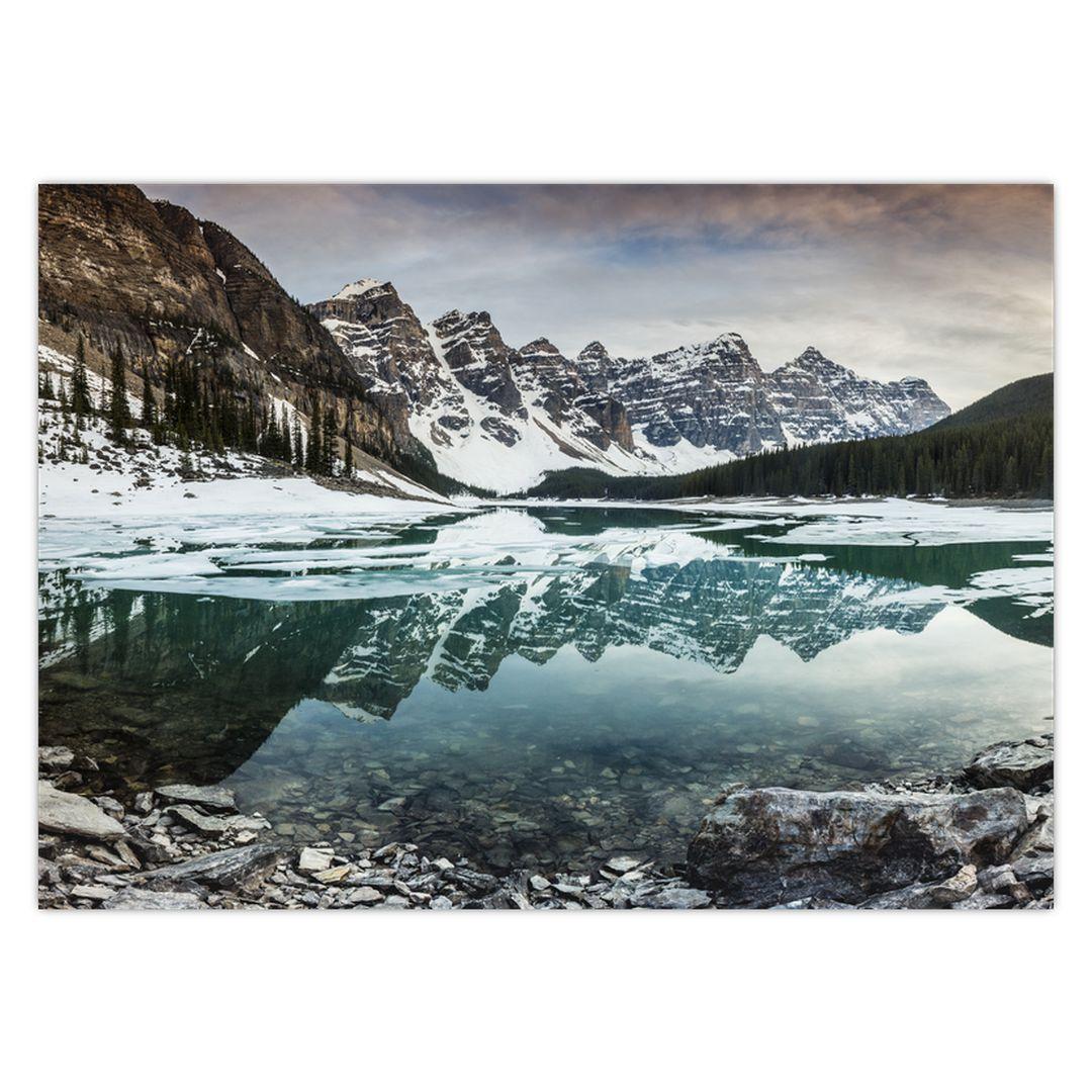 Tablou - lacul iarna (V020181V7050)