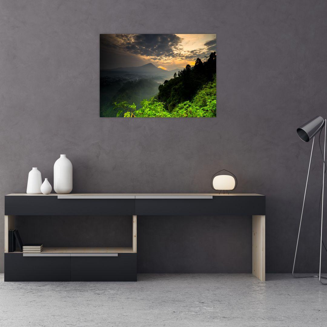 Obraz - zelená horská krajina (V020249V7050)