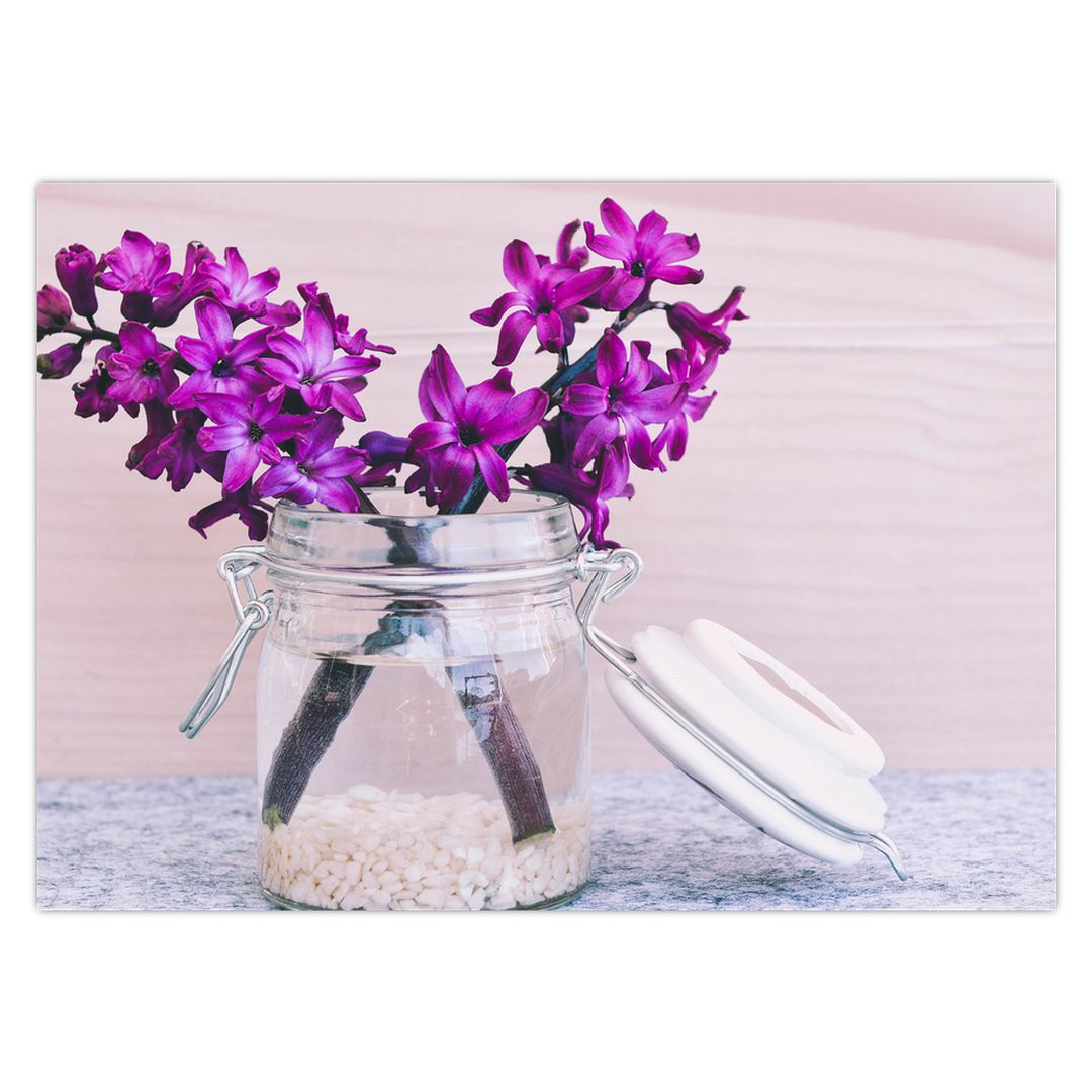 Obraz fialových květin (V020367V7050)