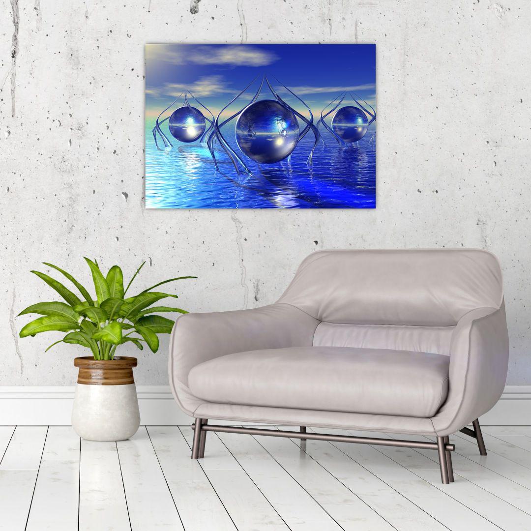 Obraz abstrakce - voda (V021284V7050)