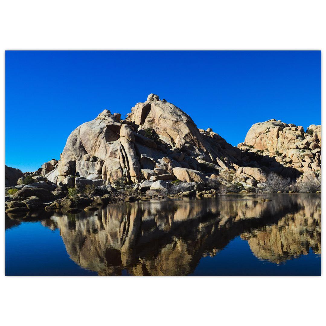 Obraz zrkadlenie skál (V021327V7050)