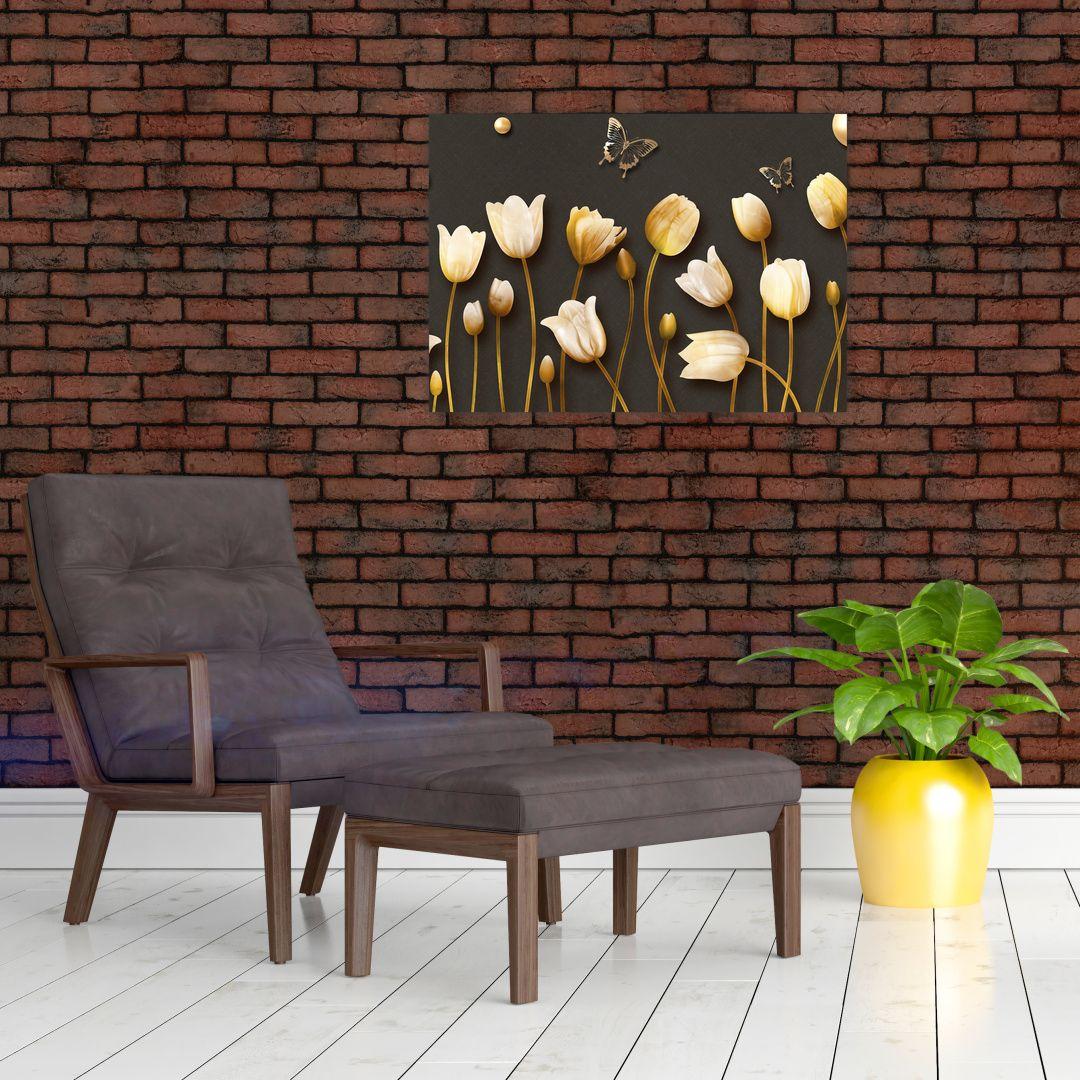 Obraz - Tulipány - abstraktné (V021347V7050)